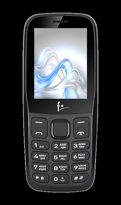 Телефон F+ F256 Black