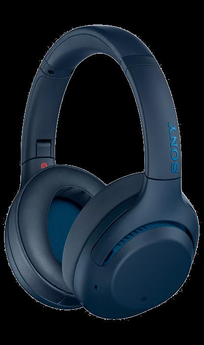 Bluetooth-гарнитура Sony WHXB900N (синий)