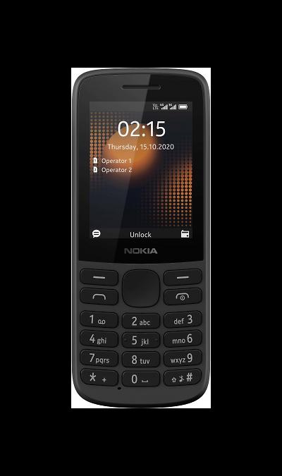 Телефон Nokia 215 4G Dual Sim Black