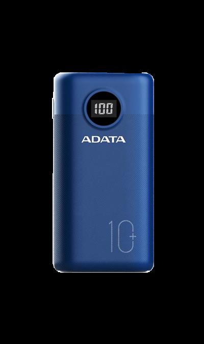 Аккумулятор ADATA P10000QCD, Li-Ion, 10000 мАч, синий