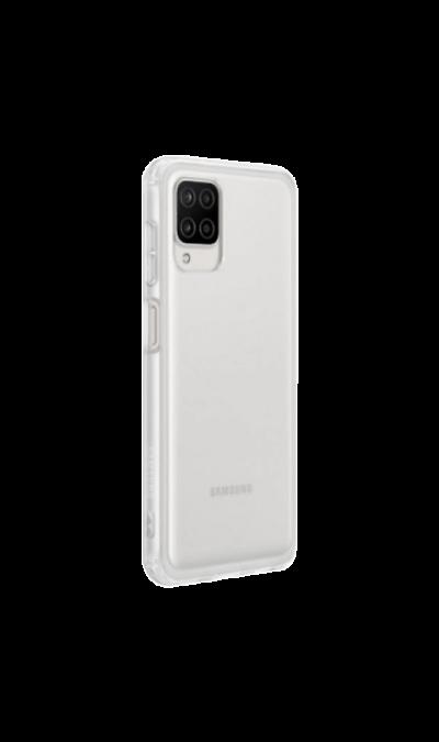 Чехол-крышка Samsung QA125TTEGRU для Galaxy A12, термополиуретан, прозрачный