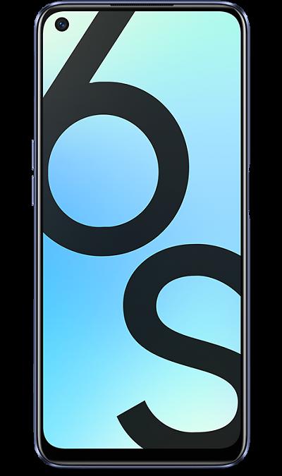 Смартфон realme 6i 4/128GB Черное затмение