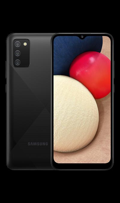 Смартфон Samsung Galaxy A02s Чёрный