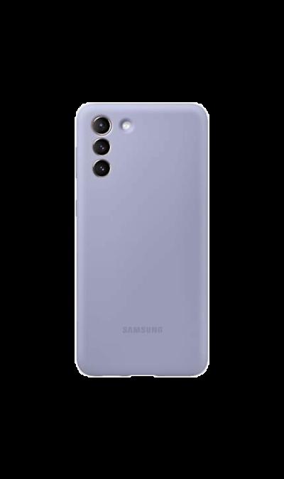 Чехол-крышка Samsung EF-PG991TVEGRU для Galaxy S21, термополиуретан, фиолетовый Чехол-крышка Samsung EF-PG991TVEGRU для Galaxy S21, термополиуре