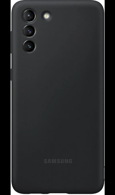 Чехол-крышка Samsung EF-RG991CBEGRU для Galaxy S21 Ultra, термополиуретан, черный Чехол-крышка Samsung EF-RG991CBEGRU для Galaxy S21 Ultra, термоп