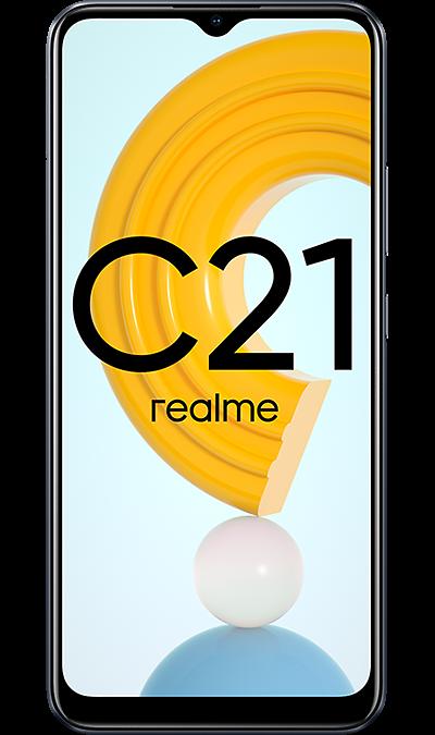 Смартфон realme C21 64GB Черный