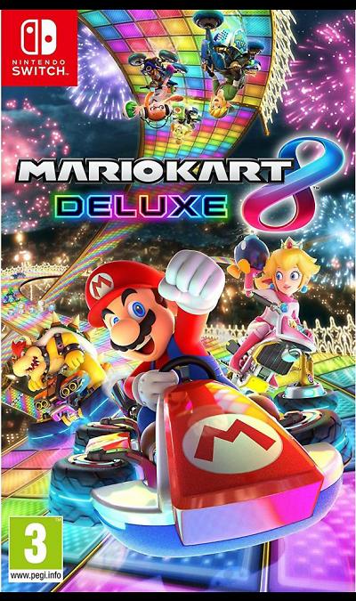 Игра Nintendo Switch Mario Kart 8 Deluxe