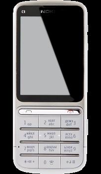 362cbd786dfe8 Купить Телефон Nokia C3-01 Silver по выгодной цене в Москве в ...