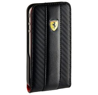 �����-������ Ferrari ��� iPhone 4 FEFLIP4C, ������, ������
