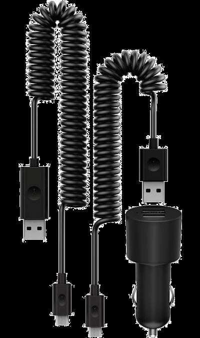 Зарядное устройство автомобильное Nokia DC-20 (Dual USB)Зарядные устройства<br>Два USB-разъема позволяют заряжать два устройства одновременно.<br>Высокая выходная мощность (2х1А).<br>В комплекте два кабеля для зарядки устройств с разъемами micro USB и Nokia 2mm.<br>