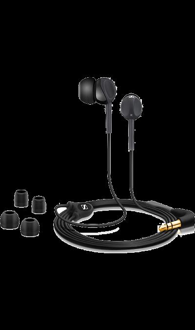 Sennheiser CX 200 Street IIНаушники и гарнитуры<br>Инновационный дизайн наушников CX 200 Street II, рассчитанный под удобный захват пальцами, позволяет легко и быстро закрепить наушники в ушных каналах. Наушники имеют высокую степень защиты от окружающего шума, мощный, насыщенный НЧ звук и прекрасно подходят для использования в движении.<br><br>Colour: Черный