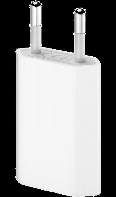 Зарядное устройство сетевое AppleЗарядные устройства<br>Этот компактный адаптер питания позволяет быстро и эффективно заряжать устройство дома, в офисе или в пути. Он совместим с любыми моделями Apple Watch, iPhone и iPod. Этот адаптер питания оснащён штепсельной вилкой, предназначенной для использования в странах континентальной Европы, Индии, некоторых странах Ближнего Востока и Латинской Америки.<br><br>Colour: Белый