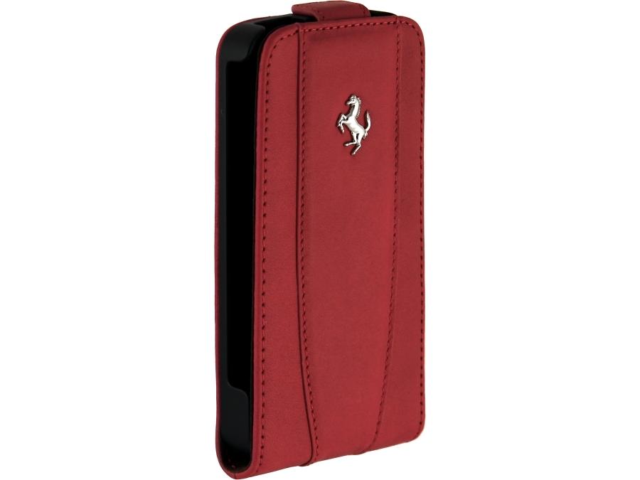 �����-������ Ferrari FEFLIP4R ��� Apple iPhone 4/4S, ���� / �������, �������