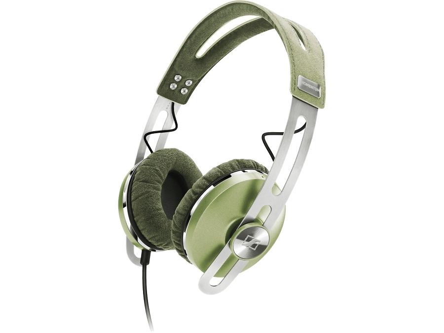 Проводная гарнитура Sennheiser Momentum On-Ear, стерео (зеленая)