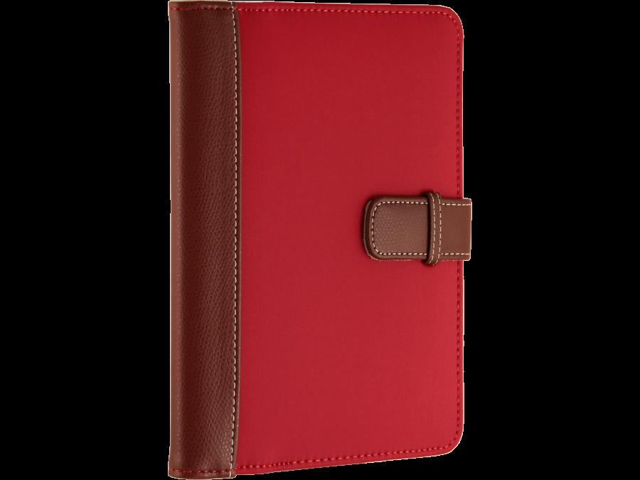 """Чехол-книжка Griffin универсальный 7"""" , кожзам / ткань, красно-коричневая"""