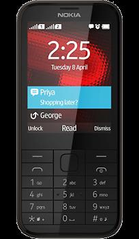 92d414b8aa9 Купить Телефон Nokia 225 Dual Sim Black по выгодной цене в Москве в ...