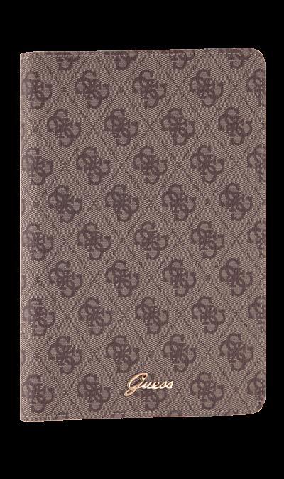 Чехол-книжка Guess 7-8, кожзам / пластик, коричневыйЧехлы и сумочки<br>Чехол поможет не только защитить ваше устройство от повреждений, но и сделает обращение с ним более удобным, а сам аппарат будет выглядеть еще более элегантным.<br><br>Colour: Коричневый