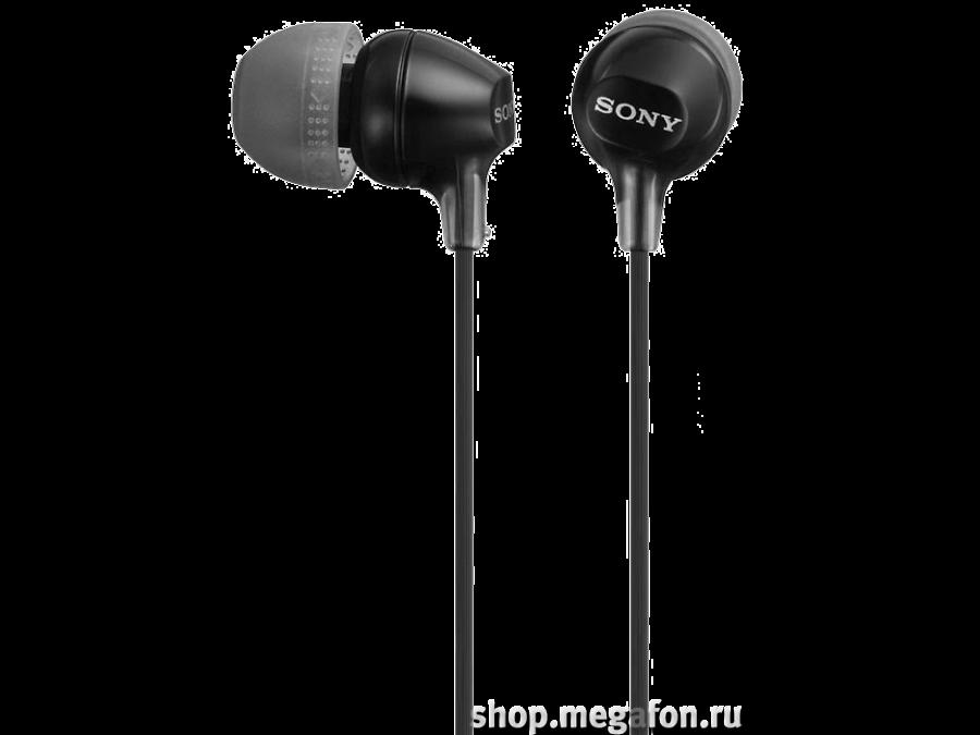 Наушники Sony MDR-EX15LP, стерео (черные)