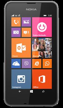 Смартфон nokia lumia 530 dual sim dark grey