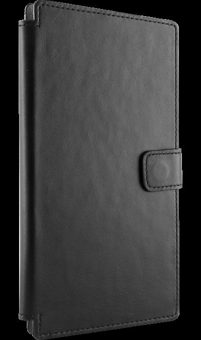 Чехол-книжка OxyFashion универсальный 6, поликарбонат / полиуретан, черныйЧехлы и сумочки<br>Универсальный чехол-книжка для устройств с диагональю корпуса 6 дюймов. Придаст индивидуальность Вашему смартфону и защитит его от царапин и потертостей. Способ крепления- липкая поверхность.<br><br>Colour: Черный