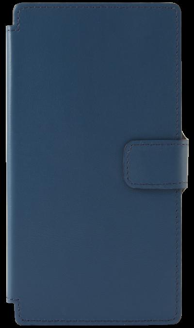 Чехол-книжка OxyFashion универсальный 5, кожа, синийЧехлы и сумочки<br>Универсальный чехол-книжка для устройств с диагональю корпуса 5 дюймов. Придаст индивидуальность Вашему смартфону и защитит его от царапин и потертостей. Способ крепления- липкая поверхность.<br><br>Colour: Синий