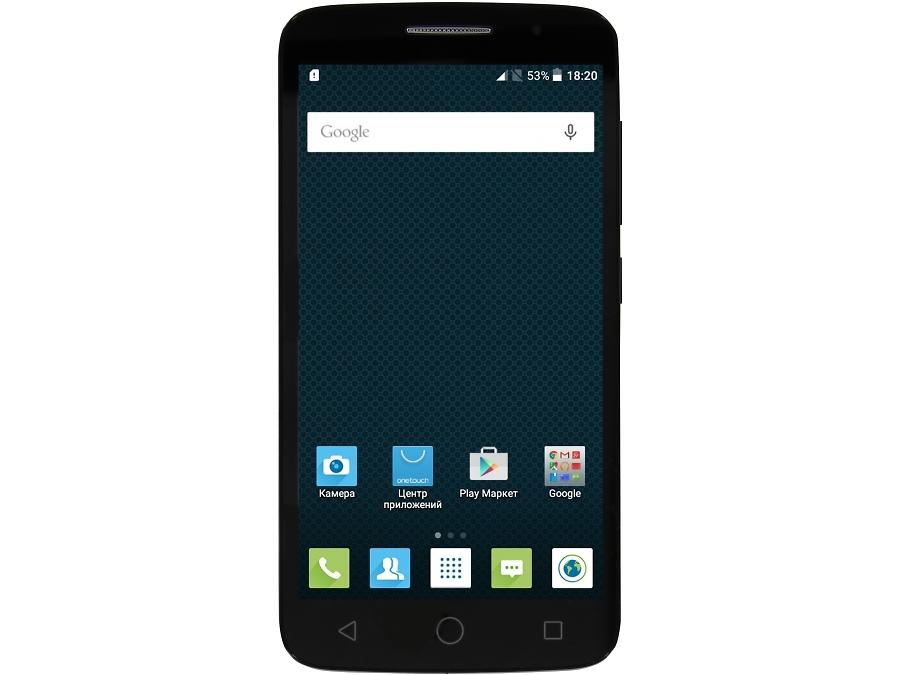 Смартфон Alcatel One Touch Pop 2 (5) LTE 7043K Volcano Black