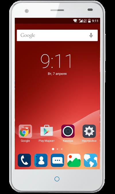 ZTE Blade S6 LTE SilverСмартфоны<br>2G, 3G, 4G, Wi-Fi; ОС Android; Дисплей сенсорный емкостный 16,7 млн цв. 5; Камера 13 Mpix, AF; Разъем для карт памяти; MP3, FM,  GPS; Вес 135 г.<br><br>Colour: Серебристый