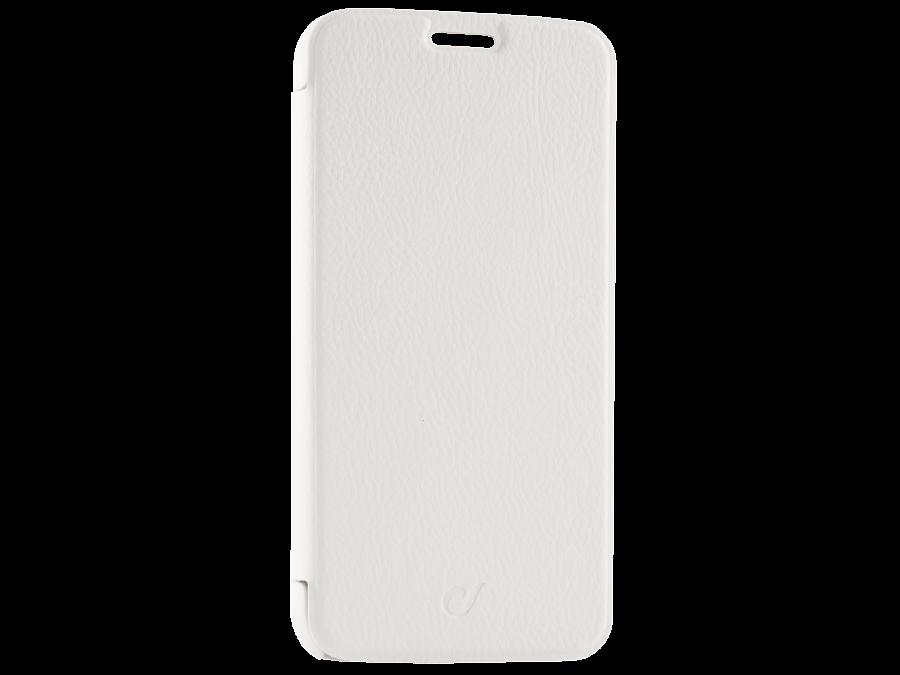 Чехол-книжка Cellular Line для Samsung Galaxy S6 G920F, кожзам / пластик, белый