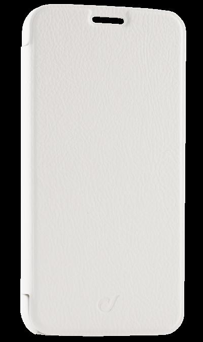 Cellular Line Чехол-книжка Cellular Line для Samsung Galaxy S6 G920F, кожзам / пластик, белый чехол для samsung galaxy s6 cellular line bookagendagals6k black