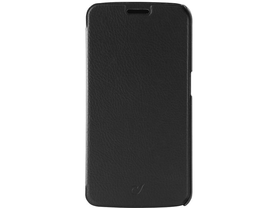 Чехол-книжка Cellular Line для Samsung Galaxy S6 Edge G925, кожзам / пластик, черный