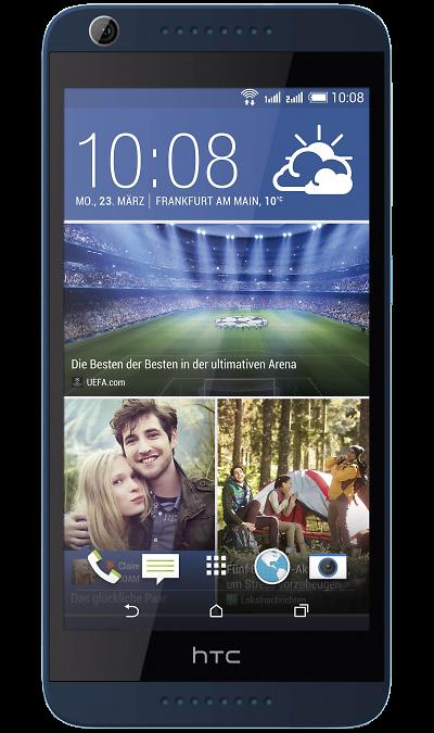 HTC Desire 626G Dual Sim Navy BlueСмартфоны<br>2G, 3G, Wi-Fi; ОС Android; Дисплей сенсорный емкостный 16,7 млн цв. 5; Камера 13 Mpix, AF; Разъем для карт памяти; MP3, FM,  GPS; Вес 138 г.<br><br>Colour: Синий