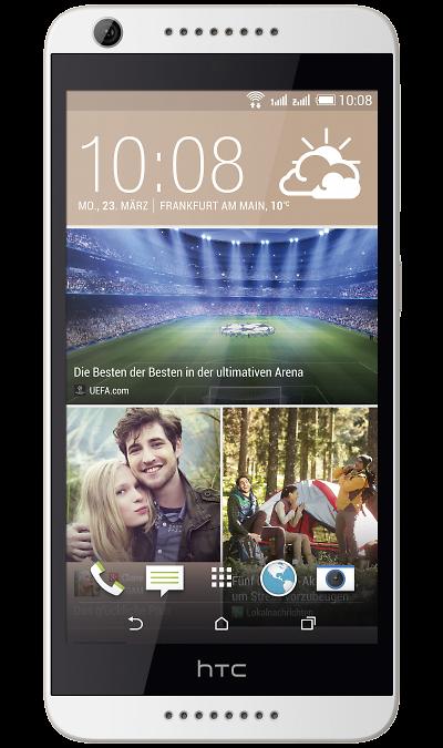 HTC Desire 626G Dual Sim Terra WhiteСмартфоны<br>2G, 3G, Wi-Fi; ОС Android; Дисплей сенсорный емкостный 16,7 млн цв. 5; Камера 13 Mpix, AF; Разъем для карт памяти; MP3, FM,  GPS; Вес 138 г.<br><br>Colour: Белый