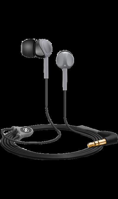 Sennheiser CX 150Наушники и гарнитуры<br>Инновационный дизайн наушников CX 150, рассчитанный под удобный захват пальцами, позволяет легко и быстро закрепить наушники в ушных каналах. Наушники имеют высокую степень защиты от окружающего шума, мощный, насыщенный НD звук и прекрасно подходят для использования в движении.<br><br>Colour: Черный