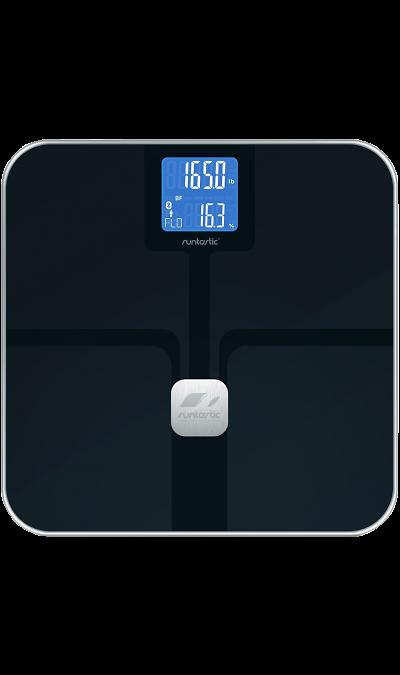 Runtastic Libra BKУстройства для здоровья<br>Напольные весы Runtastic Libra способны измерять вес, долю жировой ткани, костную и мышечную массу, содержание воды, а так же сколько калорий вы расходуете в состоянии покоя и сколько при высокой физической активности. <br>С помощью Bluetooth Smart, весы без проводов синхронизируются с приложением для iPhone и iPad, а также Android-устройств. Приложение может отображать статистику измерений, строить графики изменений и отслеживать прогресс в достижении поставленных целей. Все данные приложения ...<br><br>Colour: Черный