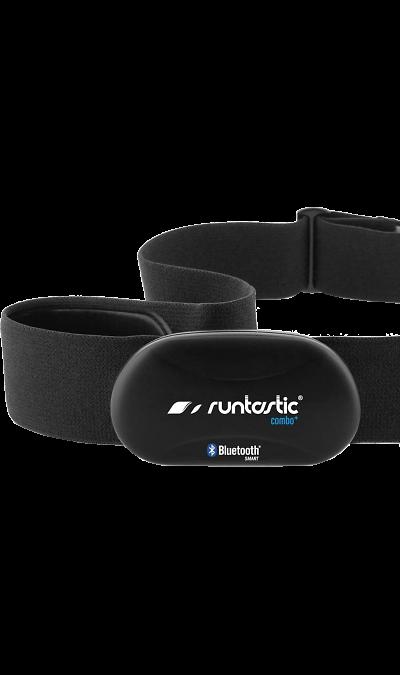 Кардиодатчик Runtastic Smart Combo RUNBT1Фитнес-устройства<br>Кардиодатчик Runtastic Bluetooth Smart Combo - это новый взгляд на занятия спортом. Если вы хотите сбросить вес или пробежать марафон, то Runtastic Bluetooth Smart Combo окажется незаменимой вещью для того, чтобы быстро достичь результата и не нанести вред своему здоровью.<br>Как он работает?<br>Runtastic Bluetooth Smart Combo совместим со всеми гаджетами Apple и мобильными устройствами на платформе Android 4.3 и выше.<br>Кардиодатчик с помощью современной технологии Bluetooth Smart передает ...<br><br>Colour: Черный