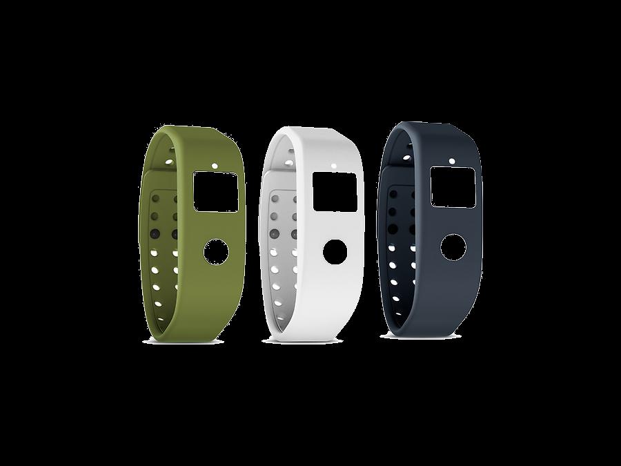 Комплект ремней Runtastic RUNORST2 для Orbit зеленый, белый, серый