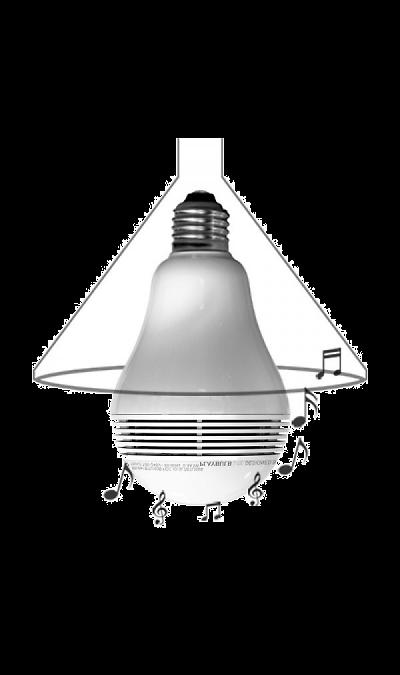 Умная лампа Mipow Playbulb Lite BTL100S White (со встроенной колонкой)