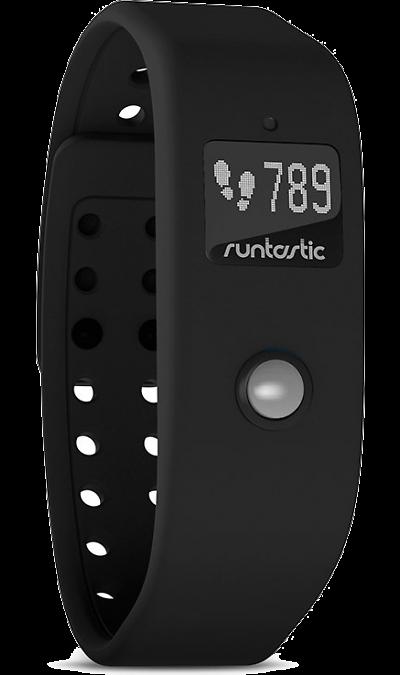 Runtastic OrbitФитнес-устройства<br>Фитнес-трекер Runtastic Orbit, используемый 24 часа в сутки, снабжает вас надежной, круглосуточной информацией, помогающей лучше понимать вашу ежедневную деятельность, ваши личные привычки и неиспользованный потенциал. Он отслеживает количество пройденных шагов, потраченных калорий и продолжительность сна.<br><br>Материал корпуса: пластик<br>Материал браслета: cиликон<br>Подключение: Bluetooth 4.0<br>Питание: собственный аккумулятор<br>Тип аккумулятора: Li-pol<br>Время автономной работы: ...<br><br>Colour: Черный