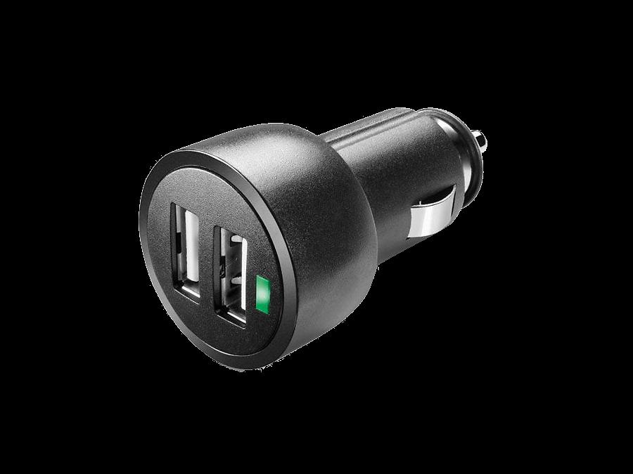 Cellular Line Зарядное устройство автомобильное Cellular Line USB CAR CHARGER DUAL ULTRA 3,1А (c 2 разъемами USB) cellular line car charger dual ultra автомобильное зарядное устройство 20326