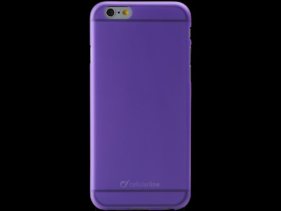 Cellular Line Чехол-крышка Cellular Line Color Slim для Apple iPhone 6, пластик, фиолетовый cellular line spvanityiphone5