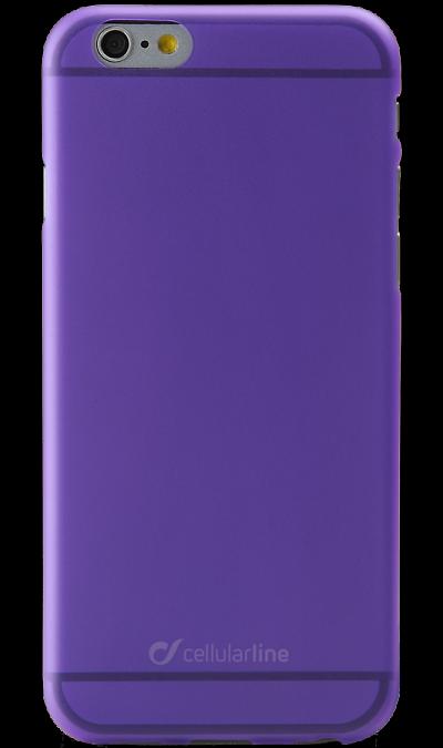 Чехол-крышка Cellular Line Color Slim для Apple iPhone 6, пластик, фиолетовыйЧехлы и сумочки<br>Чехол поможет не только защитить ваш iPhone 6  от повреждений, но и сделает обращение с ним более удобным, а сам аппарат будет выглядеть еще более элегантным.<br><br>Colour: Фиолетовый