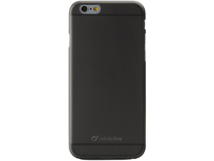 Чехол-крышка Cellular Line Color Slim для iPhone 6, пластик, черный