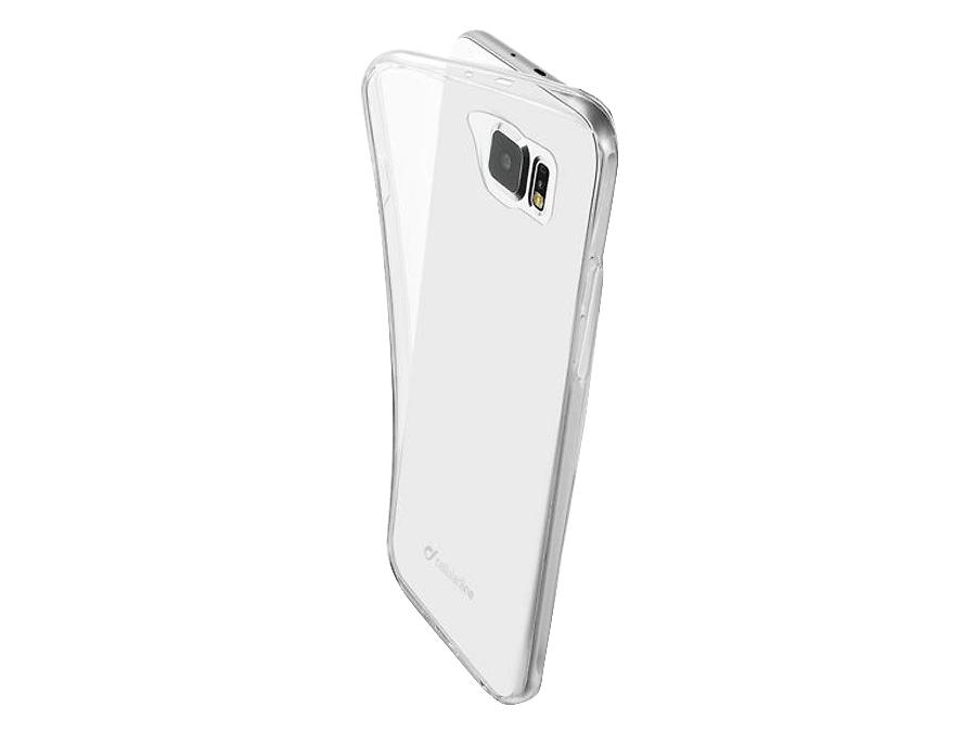 Чехол-крышка Cellular Line FINE для Samsung Galaxy S6, силикон, прозрачный