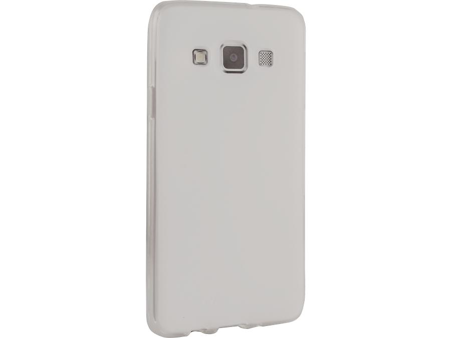 Чехол-крышка Cellular Line SHAPE для Samsung Galaxy A3, силикон, белый