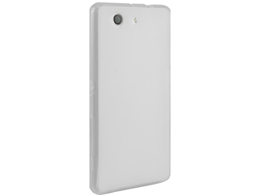 Чехол-крышка Cellular Line SHAPE для Sony Xperia Z3 Сompact, силикон, белый