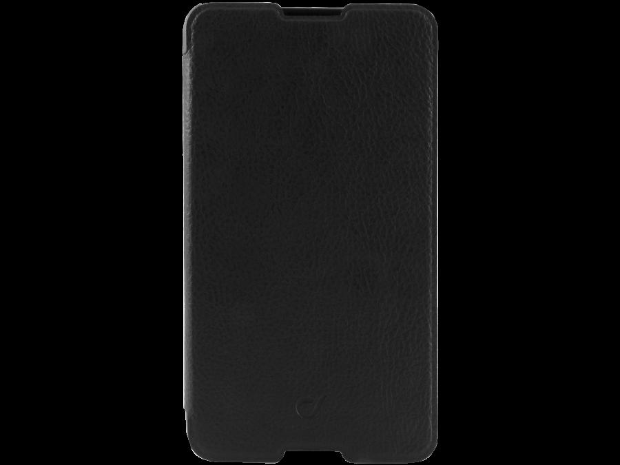 Чехол-книжка Cellular Line Book Essential для Sony Xperia E4, кожзам / пластик, черный
