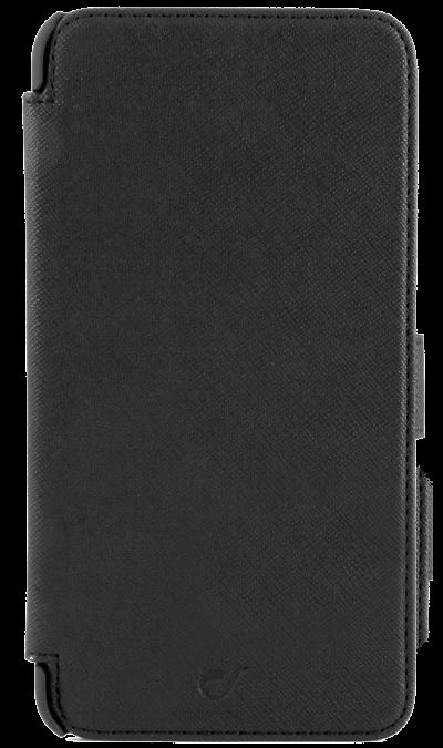 где купить Cellular Line Чехол-книжка Cellular Line Book Agenda для Apple iPhone 6 Plus, кожзам / пластик, черный дешево