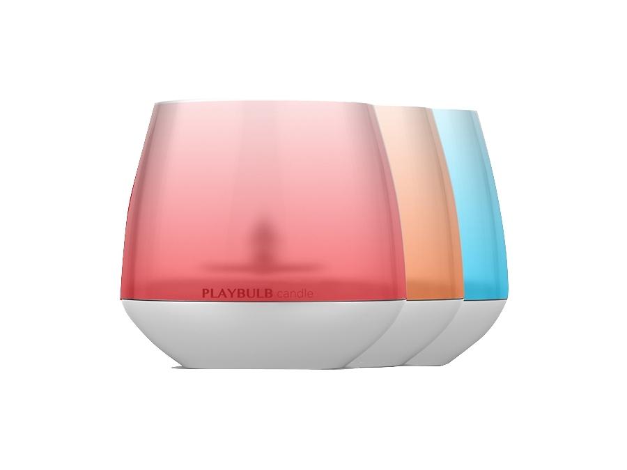 Умная лампа Mipow Playbulb Candle BTL300 WT комплект из 3 штук