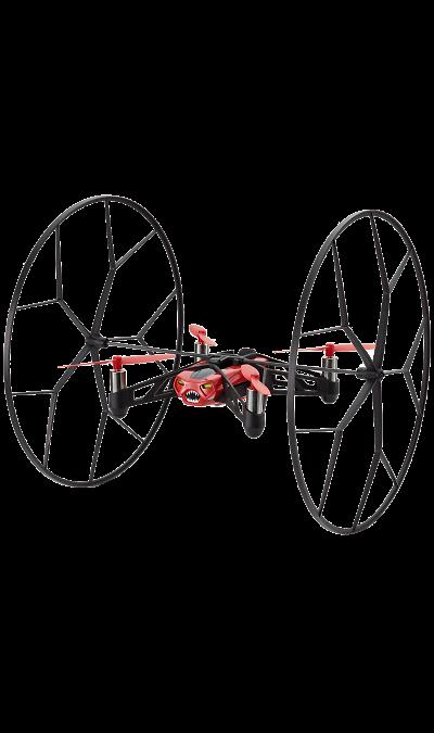 Квадрокоптер Parrot MiniDrone Rolling SpiderУмные устройства<br>Невероятные акробатические трюки. Робот Rolling Spider от Parrot - это ультракомпактный летающий дрон, управляемый со смартфона. Он с удивительной скоростью и точностью летает как в помещении, так и на открытом воздухе. Акробатические движения выполняются через бесплатное приложение для мини-дронов FreeFlight 3.<br><br>Суперлегкий и суперэнергичный робот Rolling Spider совершает скоростные повороты под углом 90 градусов и 180 градусов благодаря функции вихревого движения;<br>Он ...<br><br>Colour: Красный