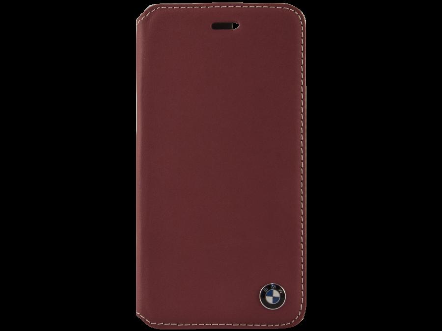 Чехол-книжка BMW BMFLBKP6CLR для Apple iPhone 6, кожа / пластик, красный